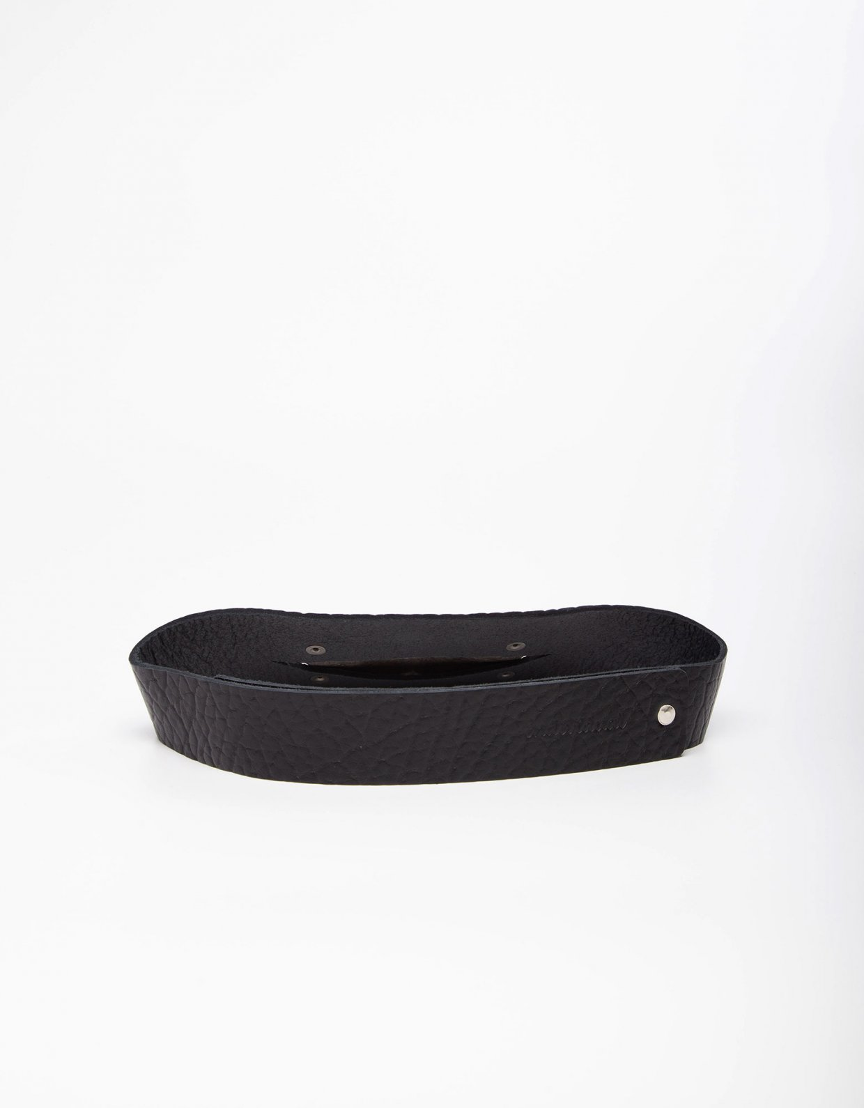 Individual Art Leather My love  black belt