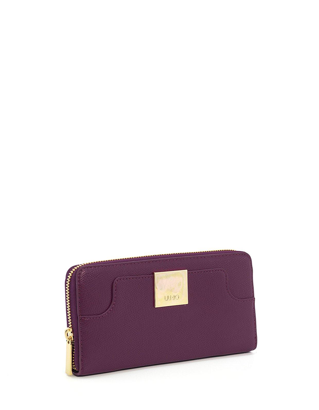 Liu Jo Large eco-friendly wallet Malvasia
