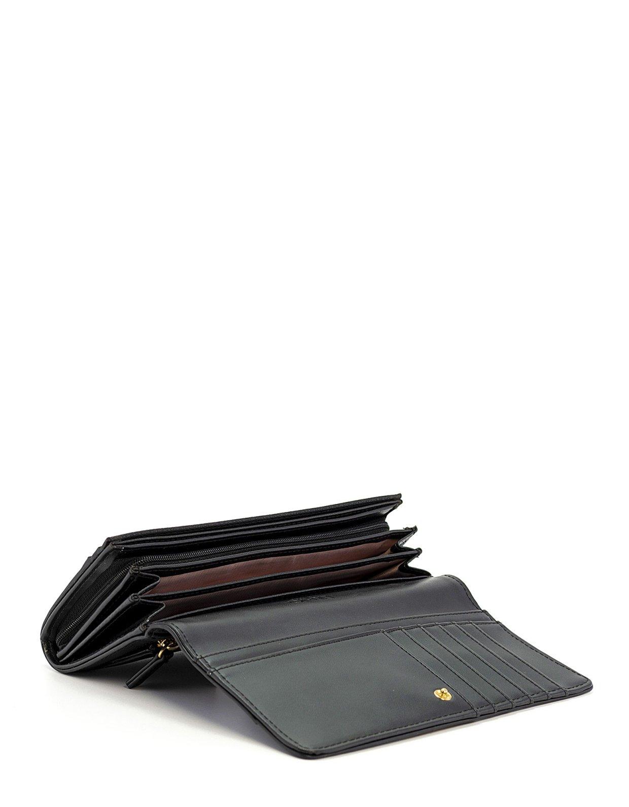Liu Jo Large bifold wallet nero