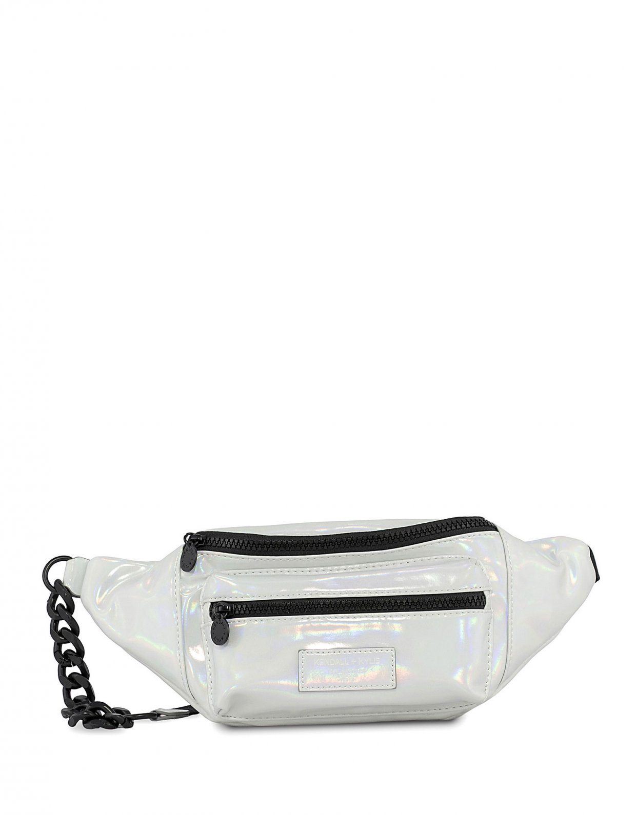 Kendall + Kylie Michelle fanny pack iridescent