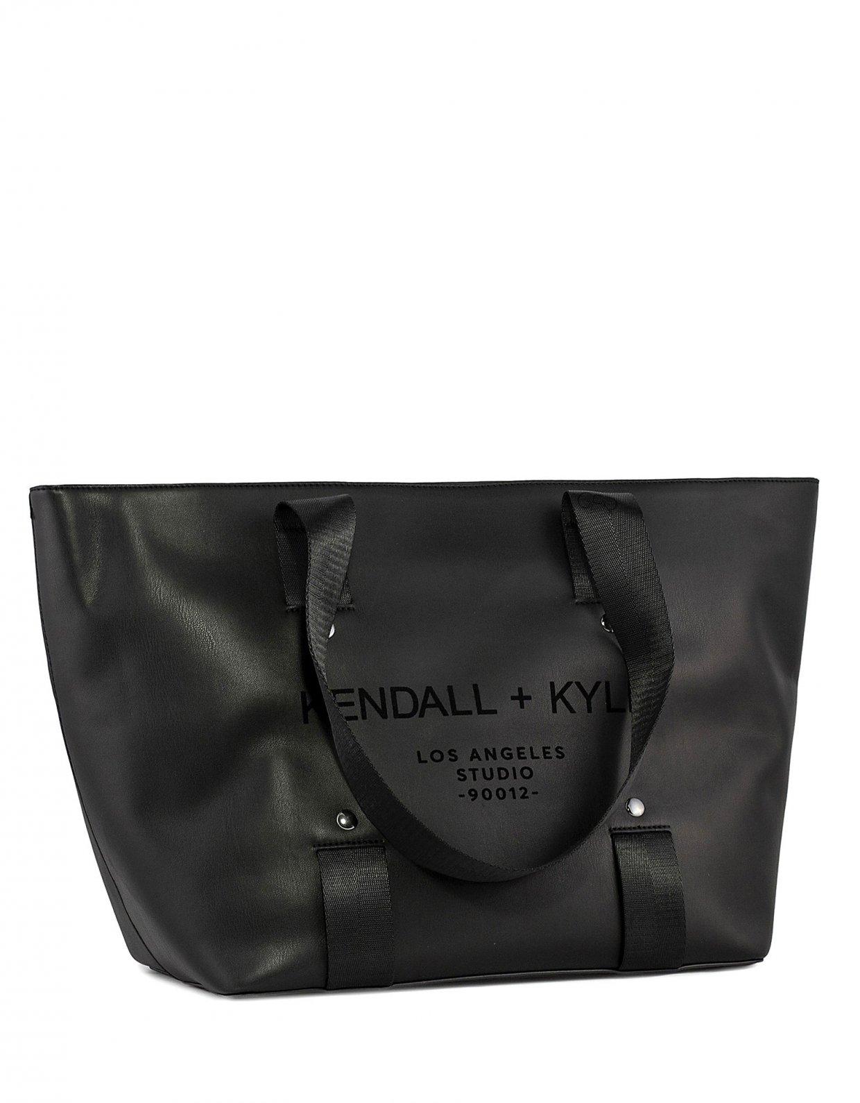 Kendall + Kylie Valerie tote bag black