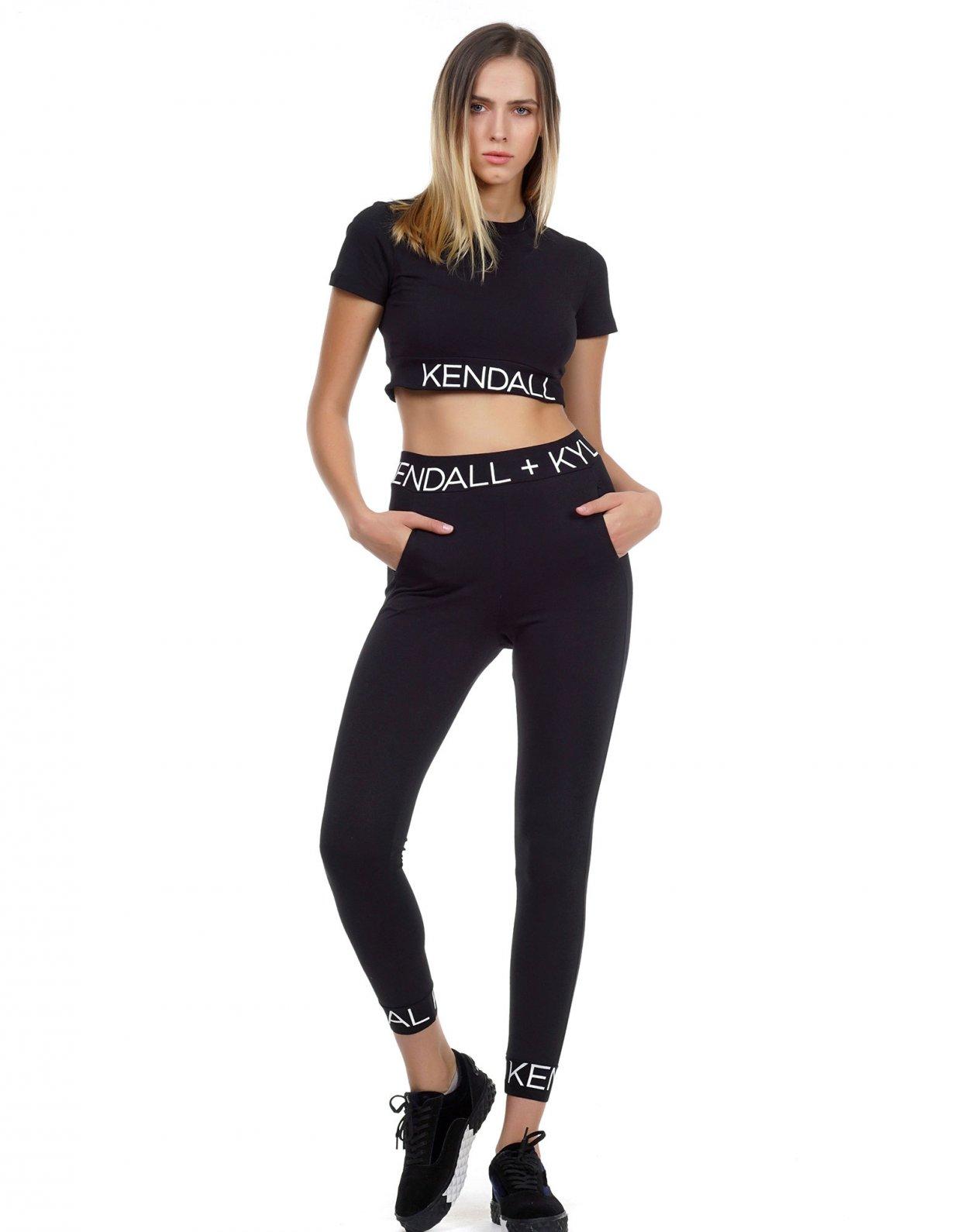 Kendall + Kylie Logo waist top