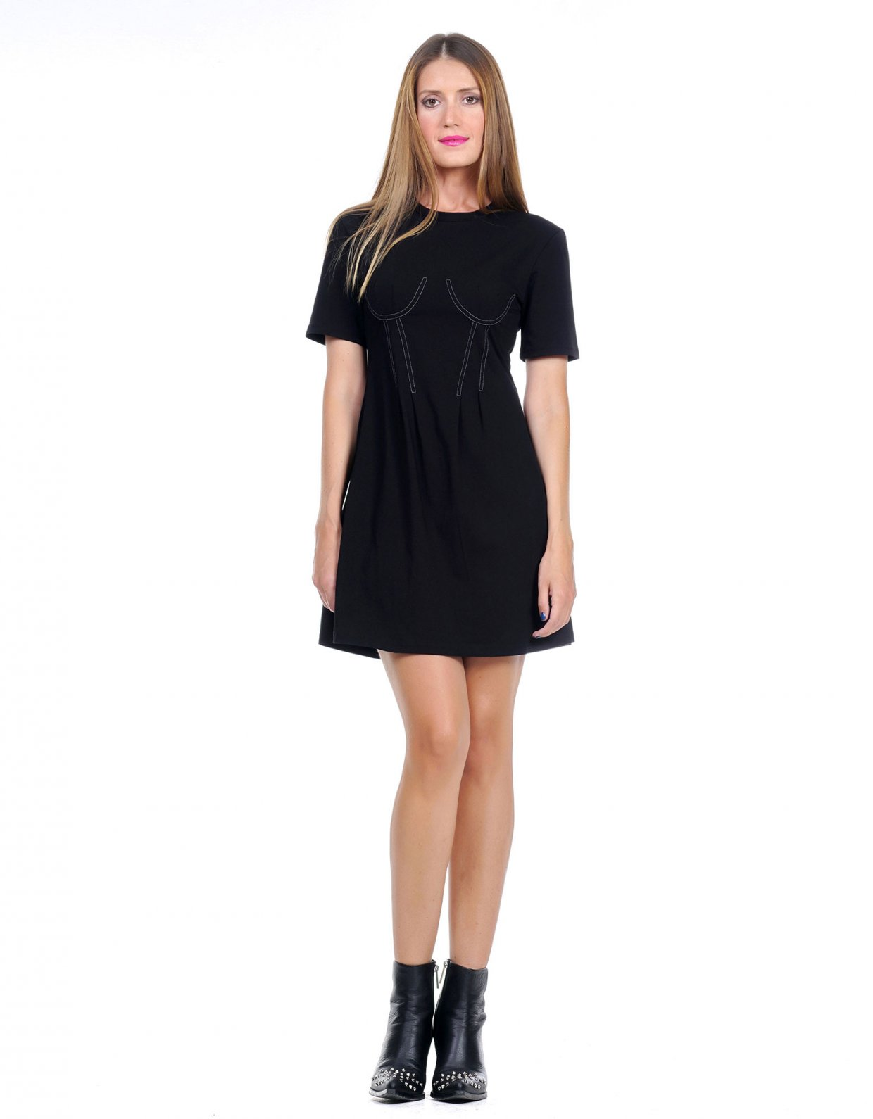 Kendall + Kylie Corset longfit dress
