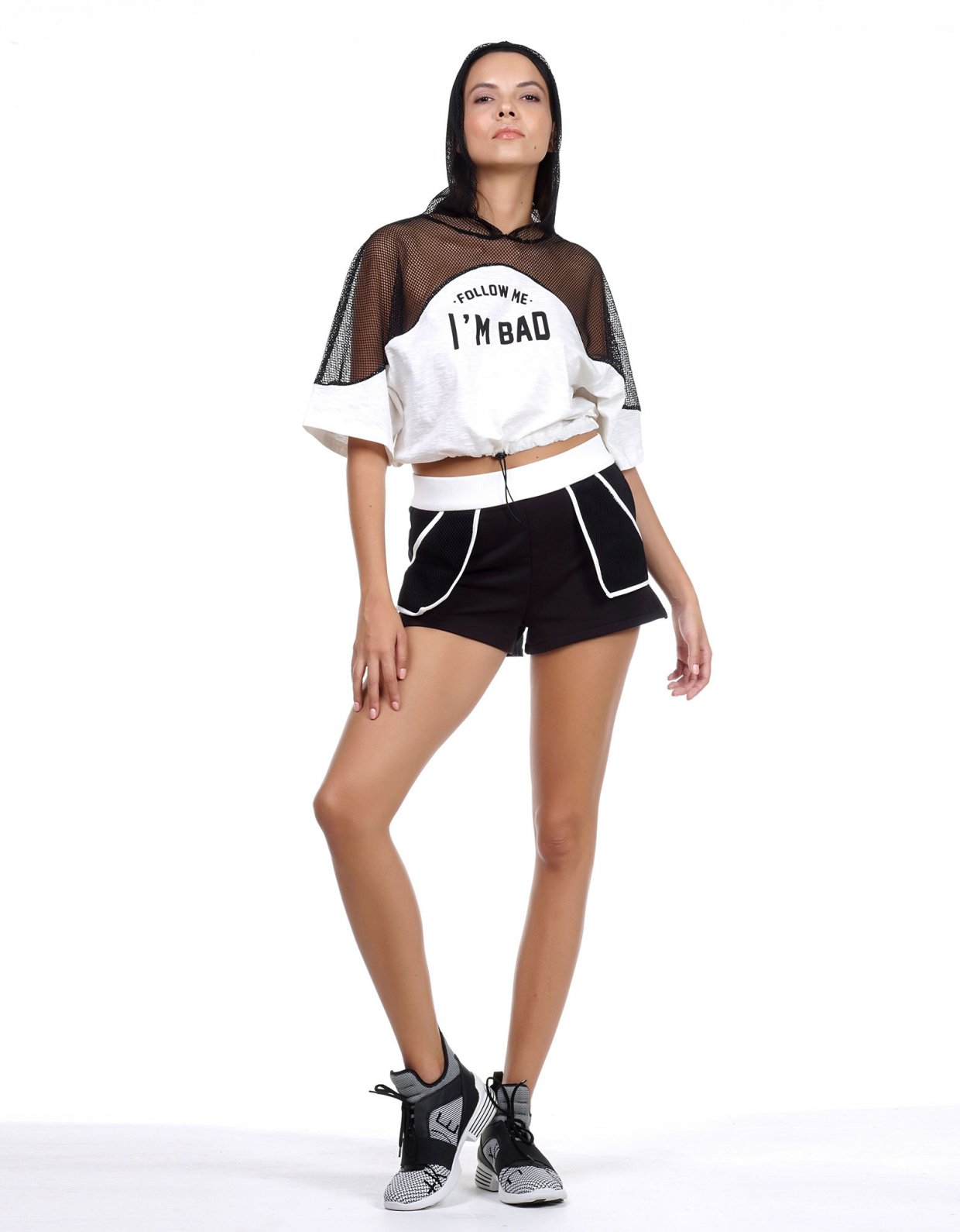 Kendall + Kylie Follow me shorts