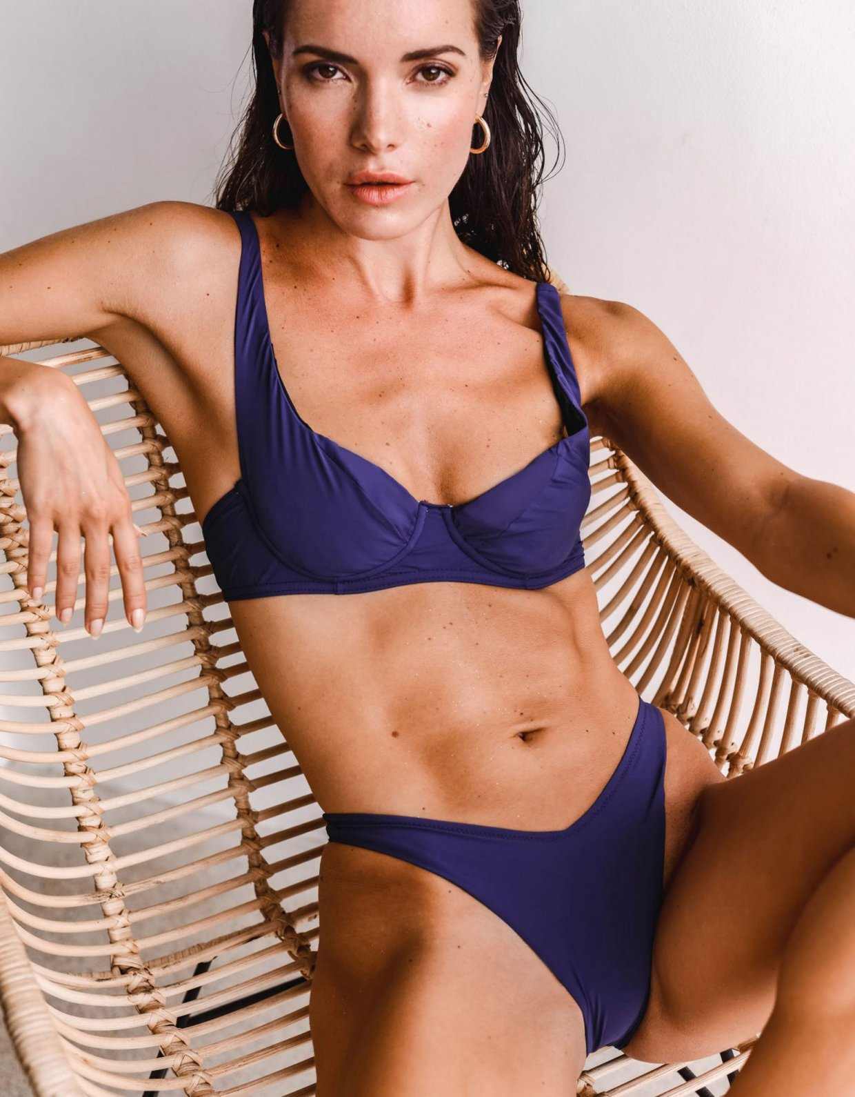 Lookseri swimwear Kali bikini patriot blue