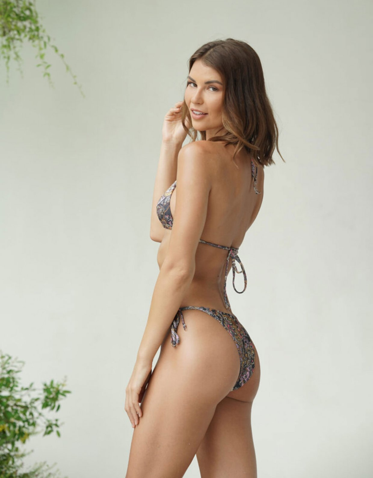 Lookseri swimwear Leticia paisley bikini