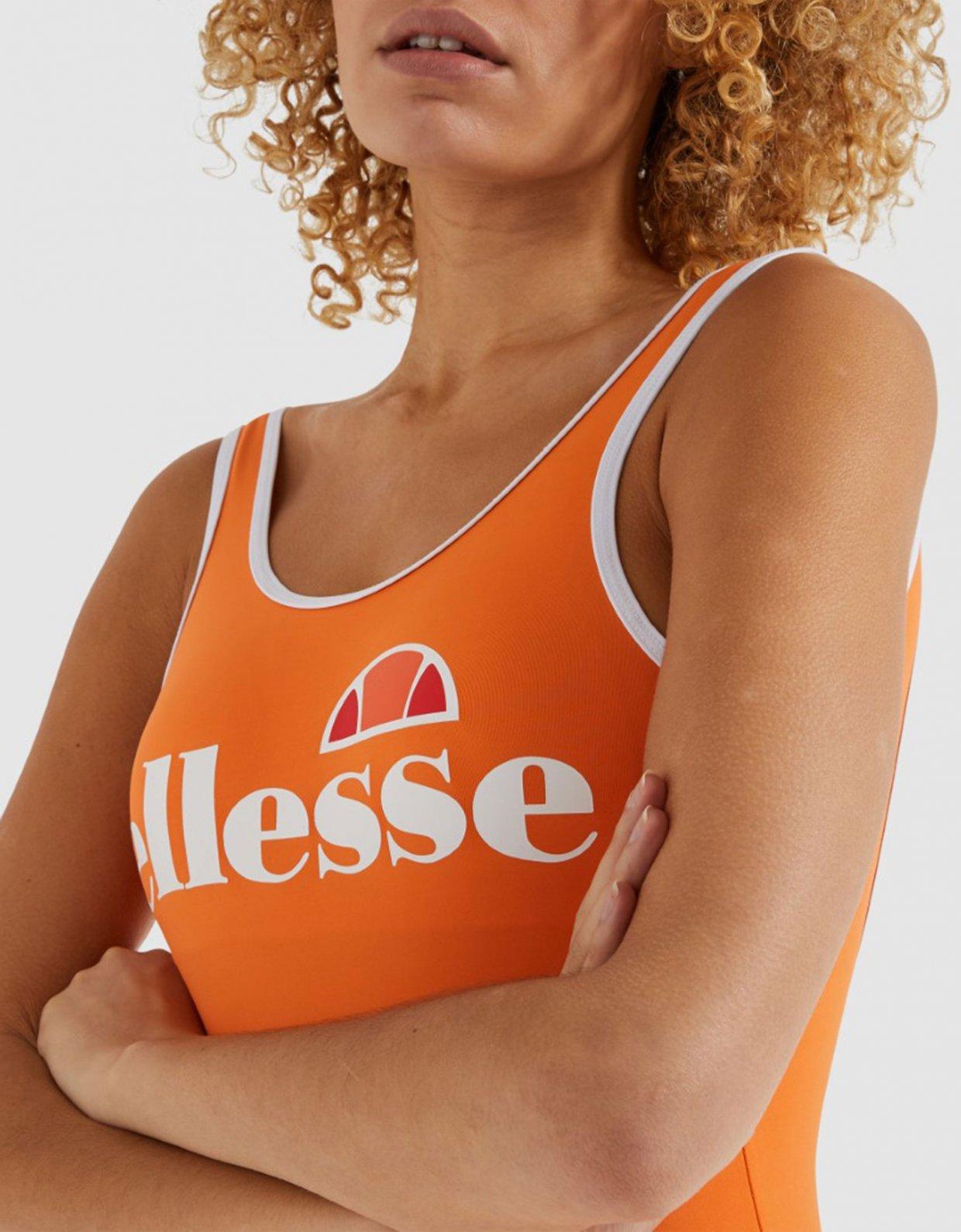 Ellesse Lilly one piece swimsuit orange