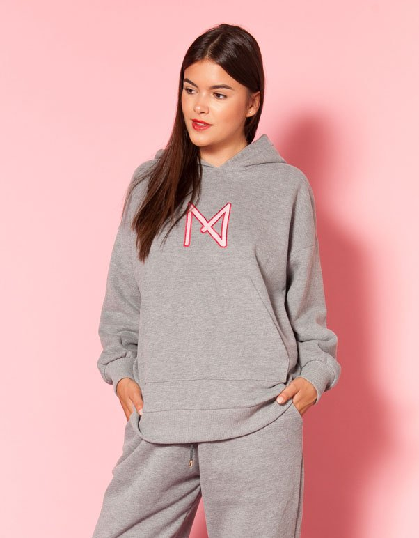 Mallory the label What's the chill grey hoodie