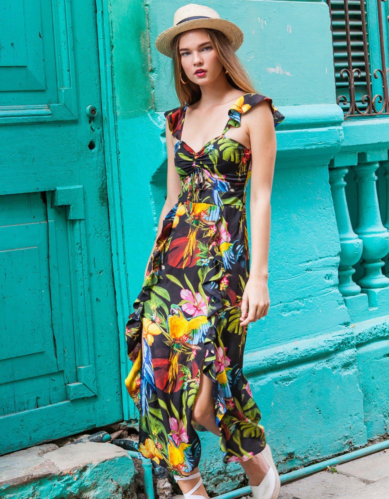 Mallory the label Manguita black dress