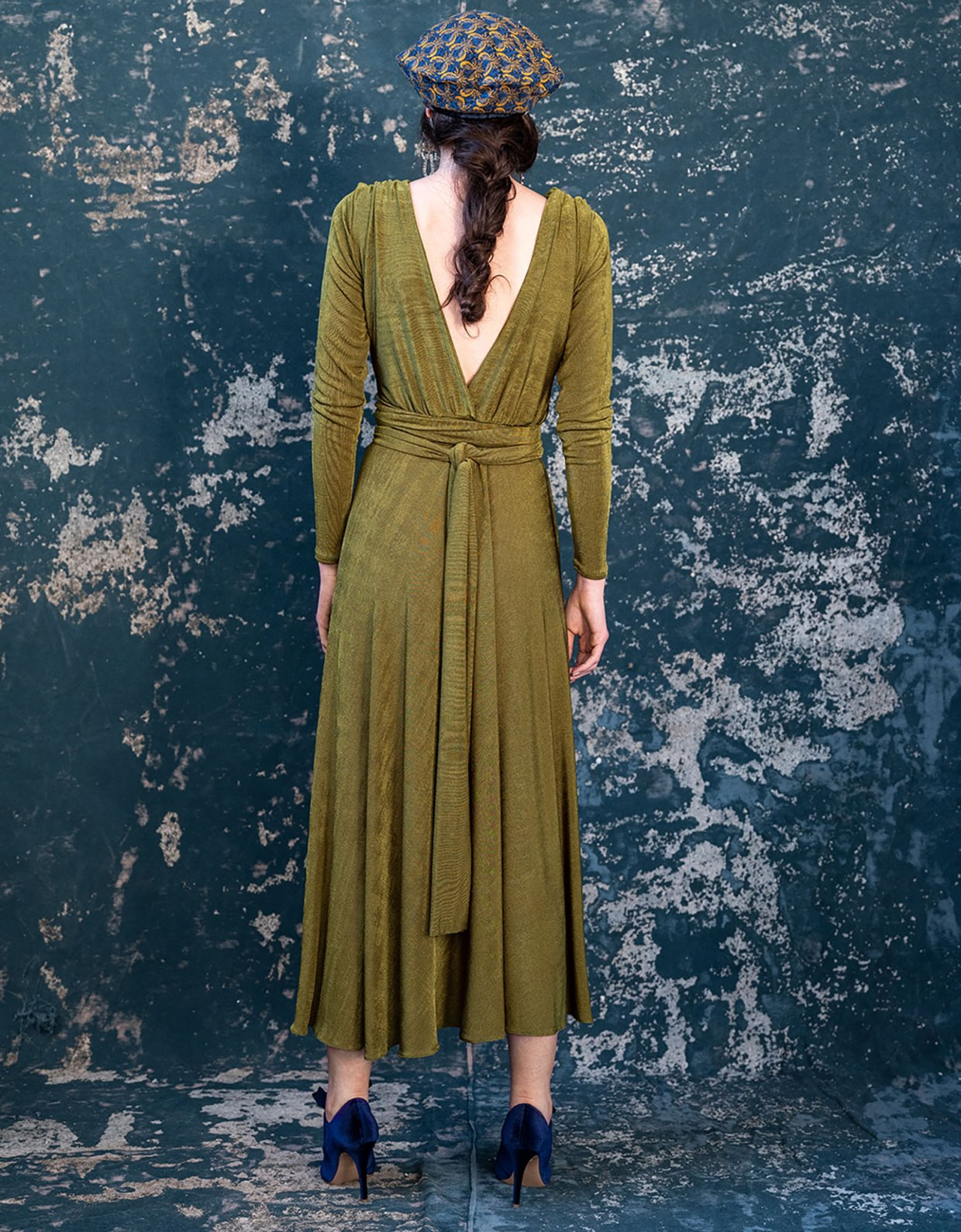 Madame Shoushou Minou green dress