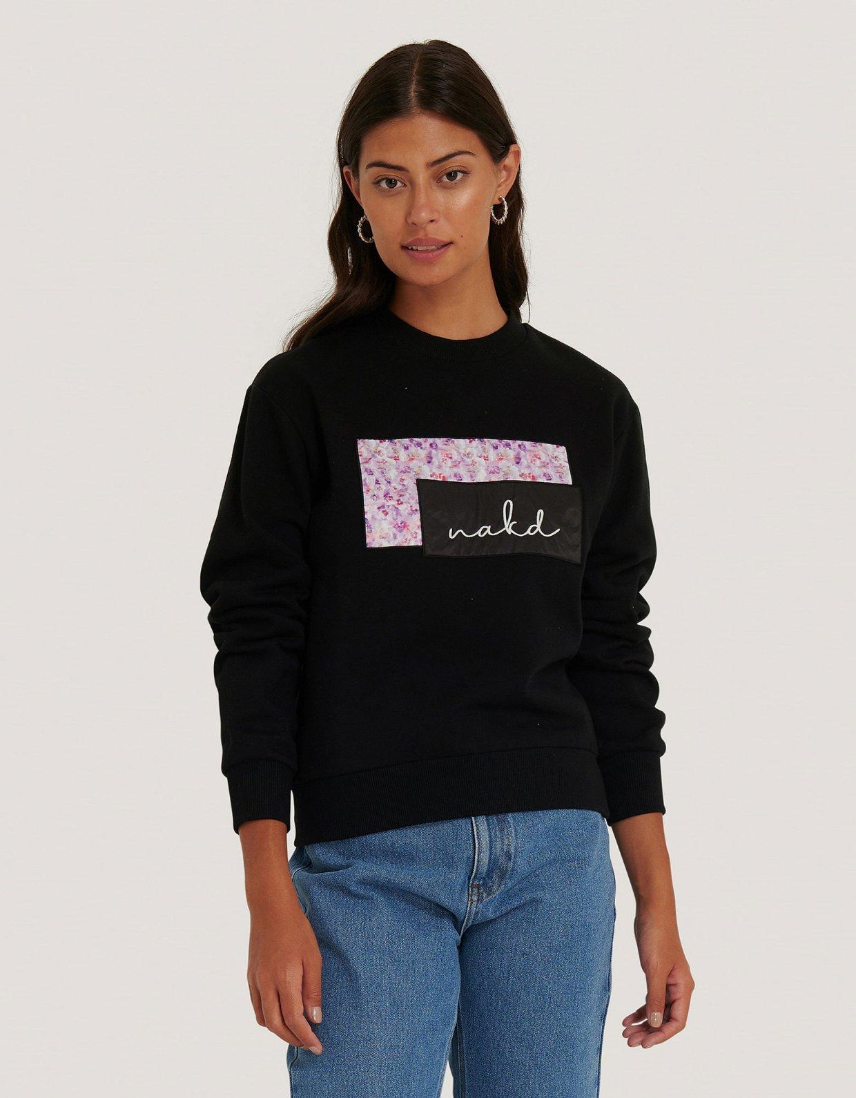 NA-KD NA-KD logo sweater