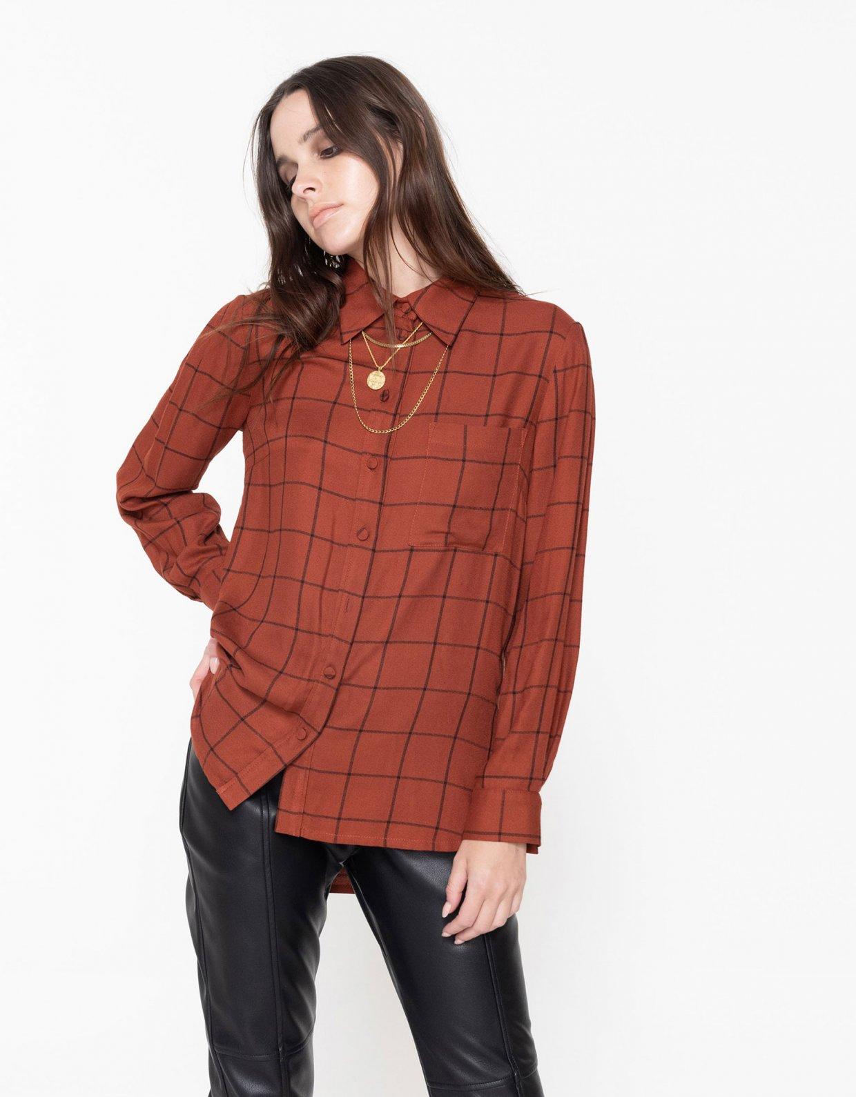 Nadia Rapti Oasis checkered shirt