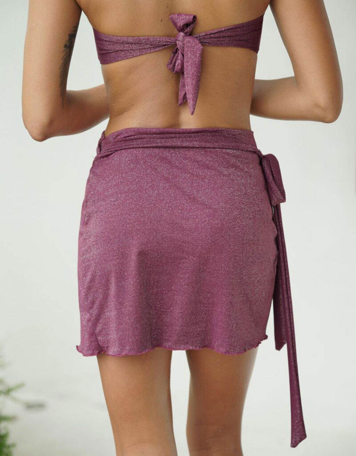 Lookseri swimwear Pareo burgundy