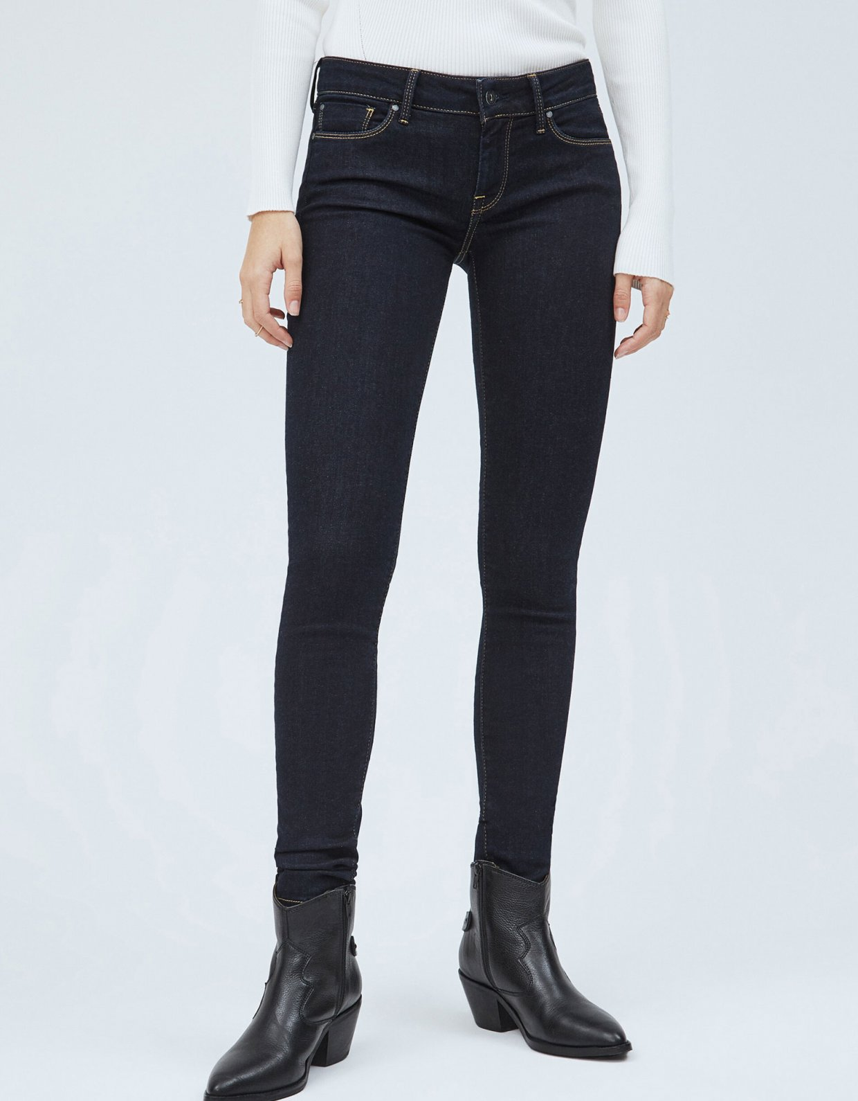 Pepe Jeans Soho skinny fit mid-waist jeans