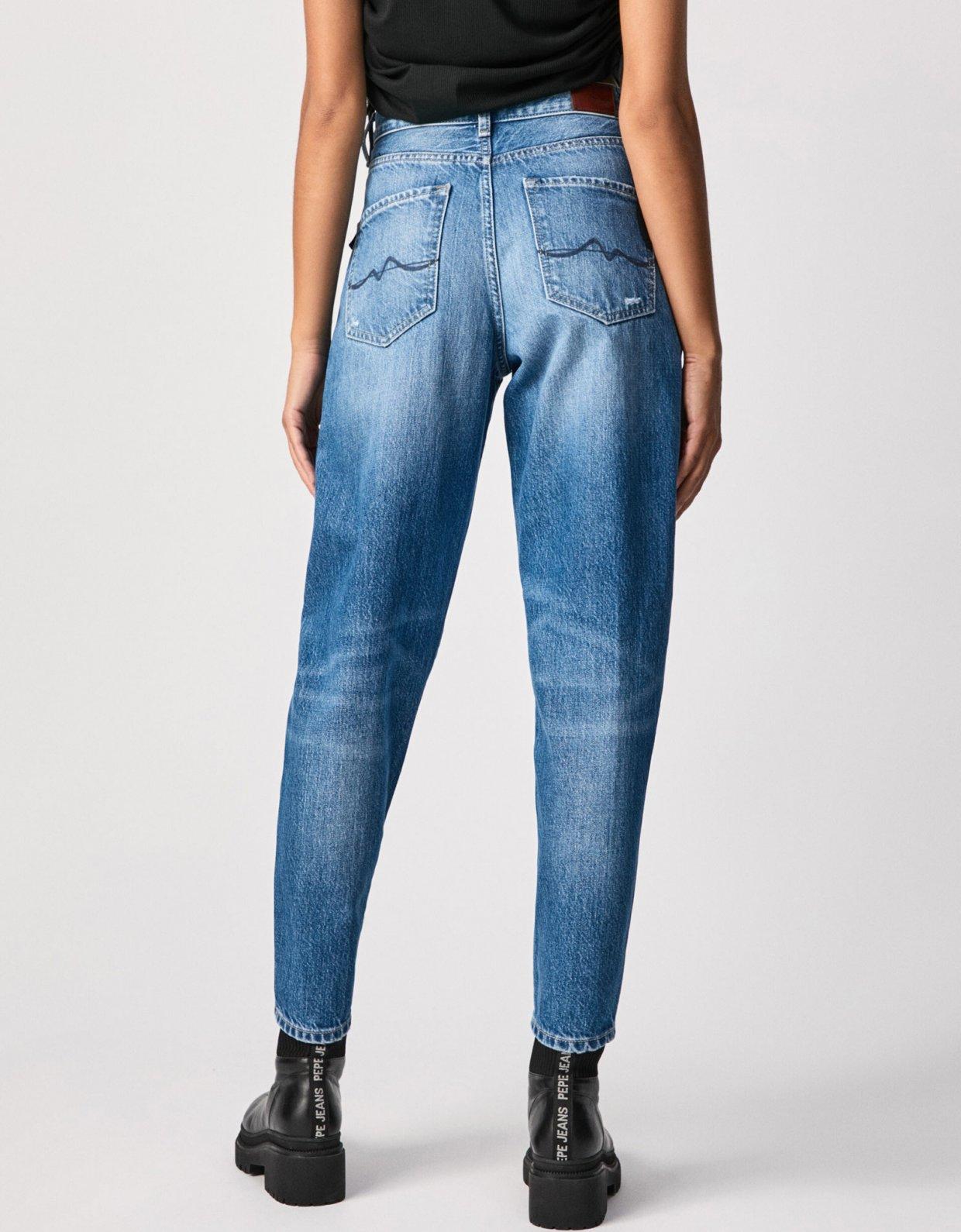 Pepe Jeans Rachel balloon fit high waist jeans
