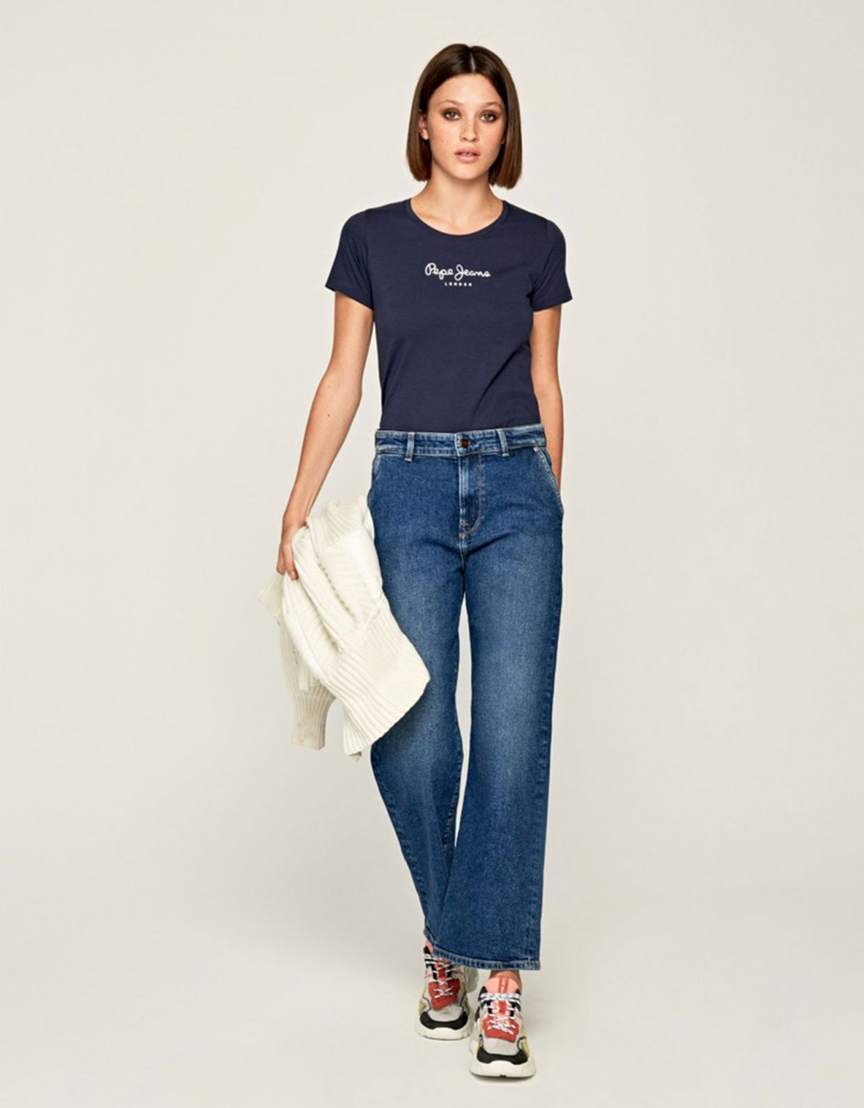 PEPE JEANS New Virginia t-shirt blue