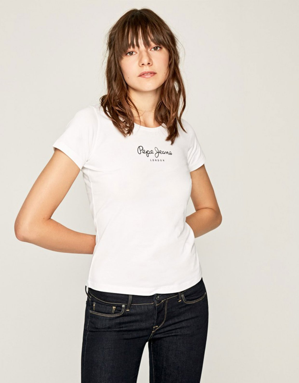 PEPE JEANS New Virginia t-shirt white