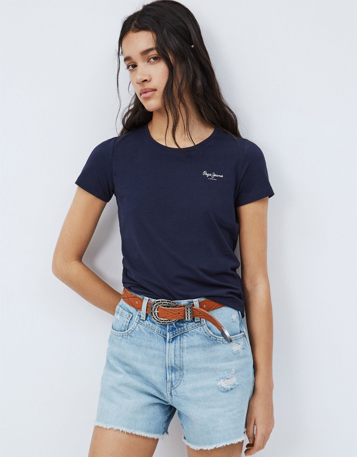 Pepe Jeans Bellrose basic t-shirt thames