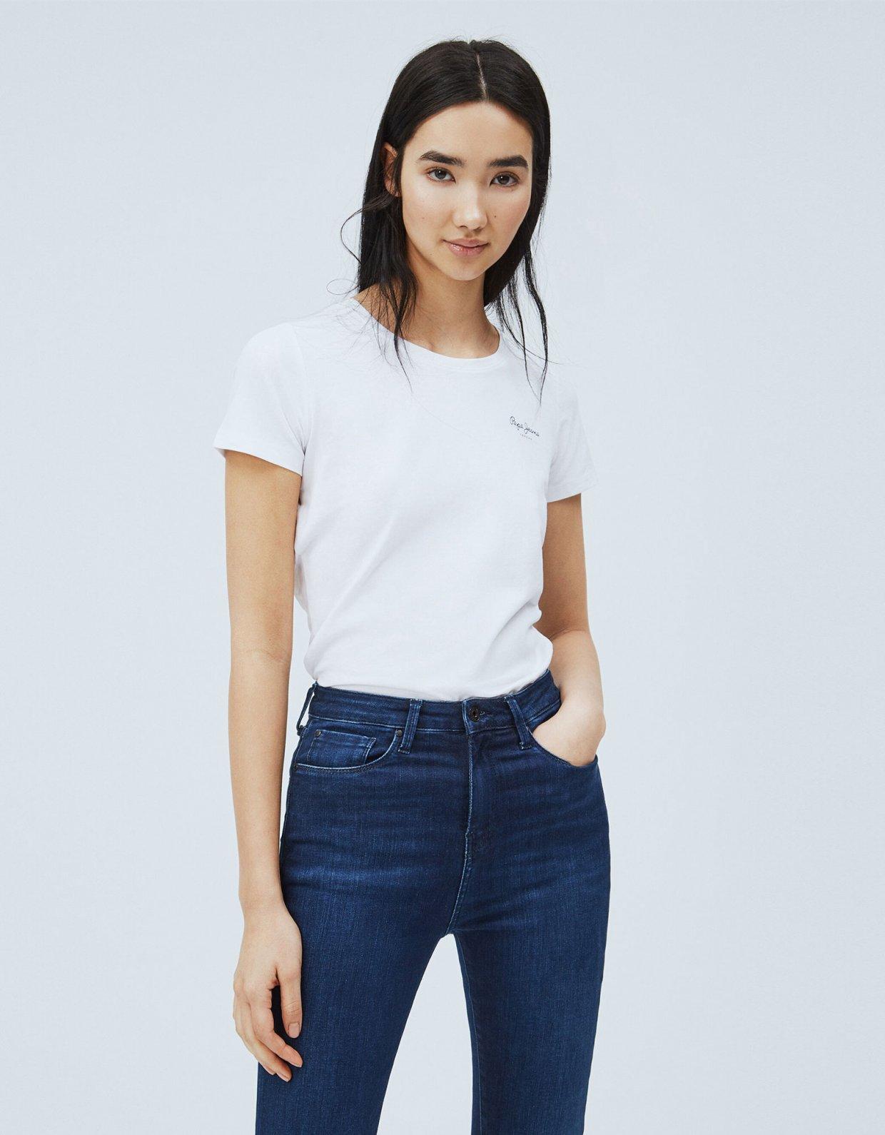 Pepe Jeans Bellrose basic t-shirt white