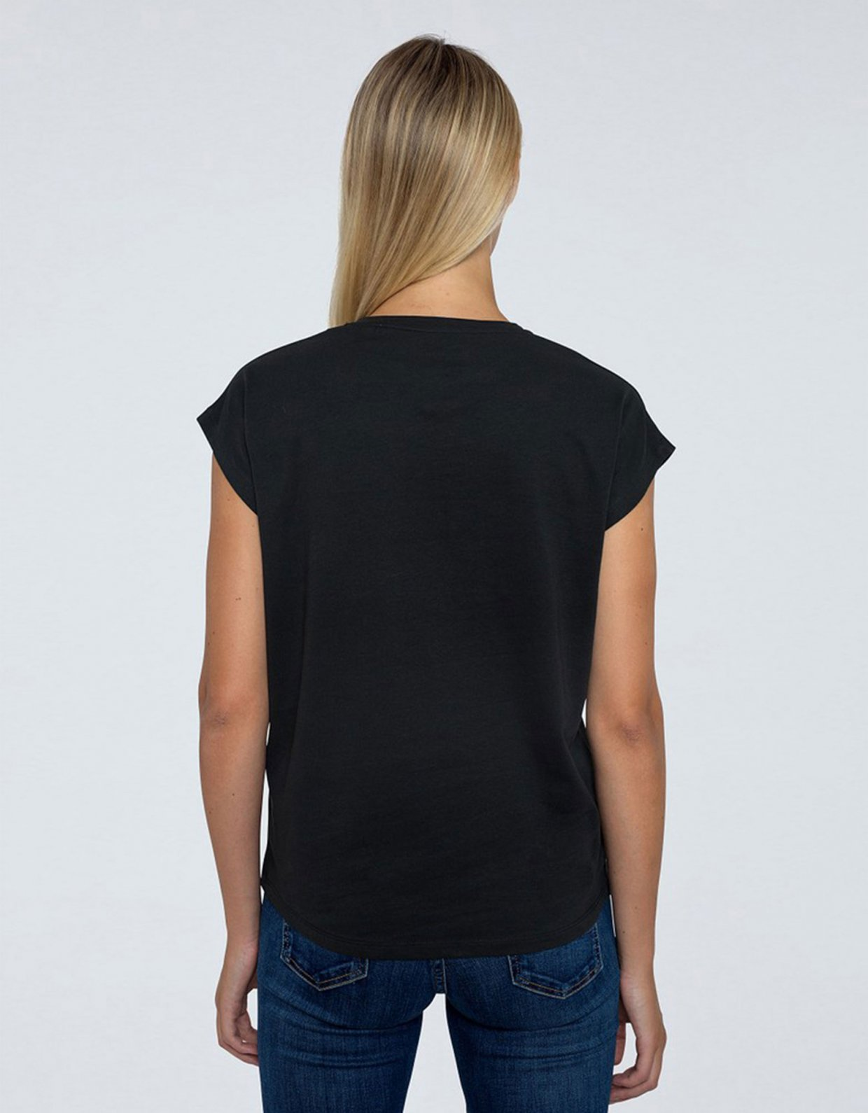 PEPE JEANS Bloom t-shirt black