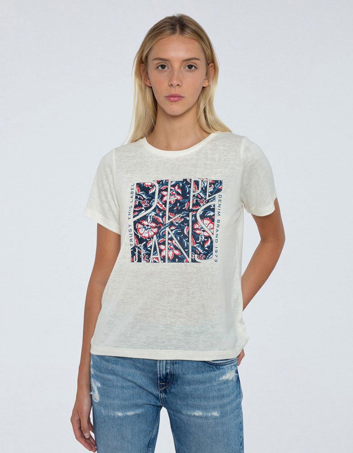 PEPE JEANS Brooklyn t-shirt white