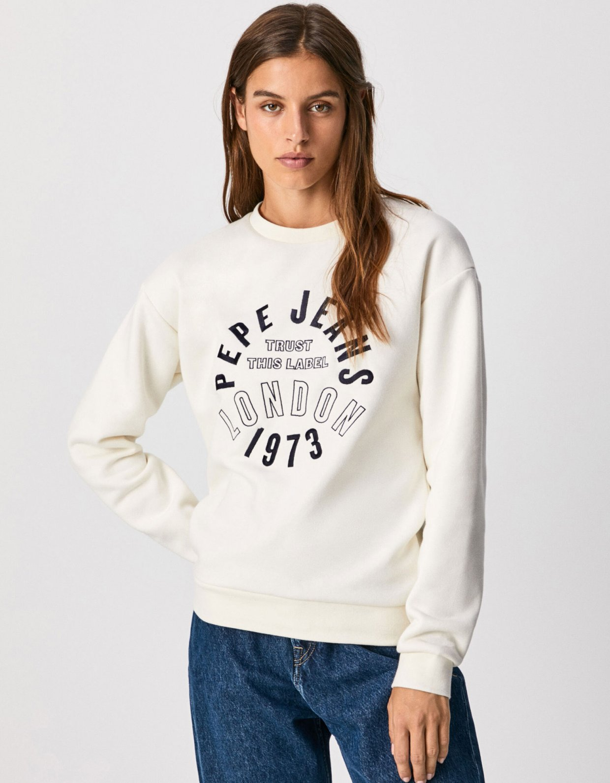 Pepe Jeans Bertie sweatshirt mousse