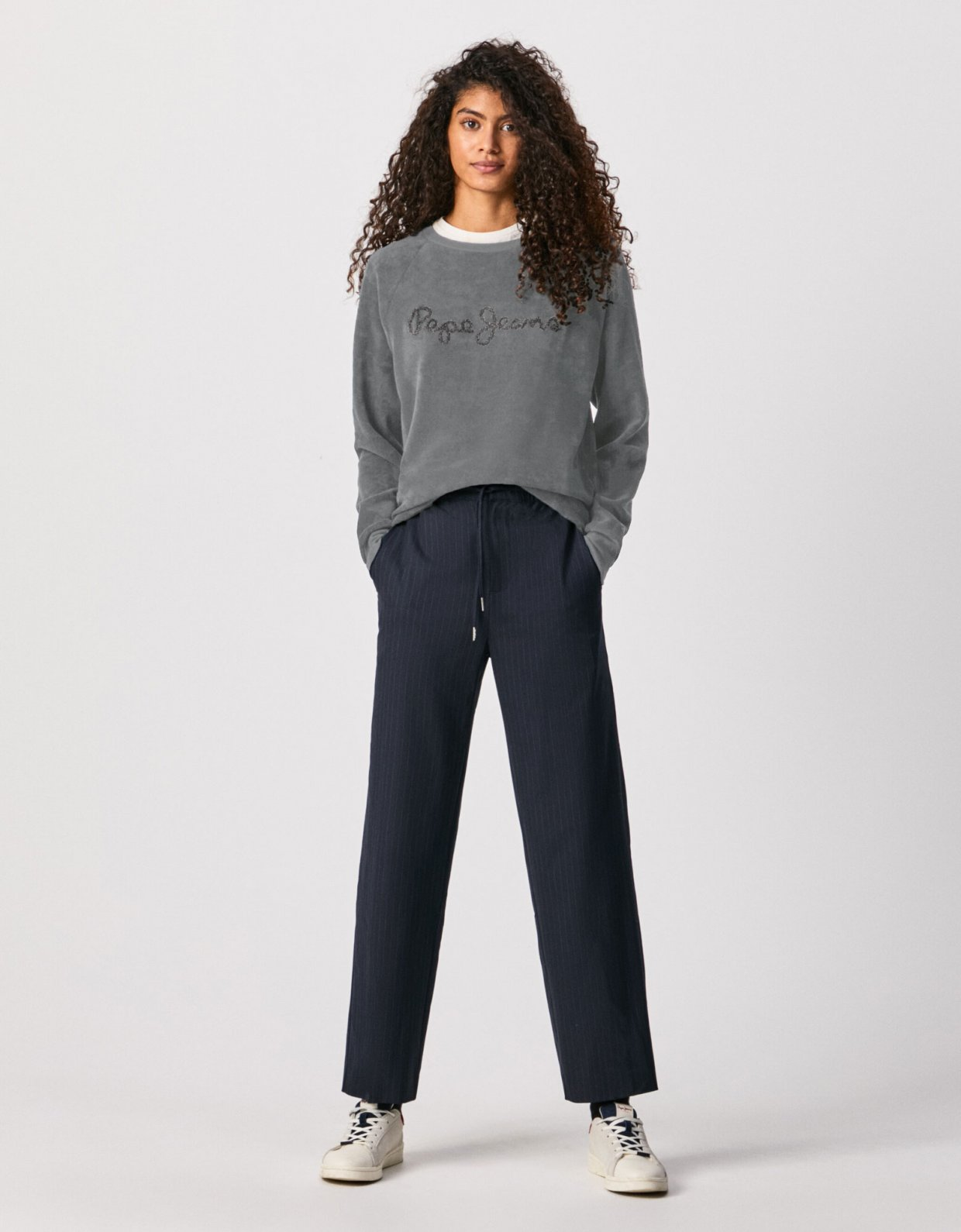 Pepe Jeans Nana sweatshirt grey marl