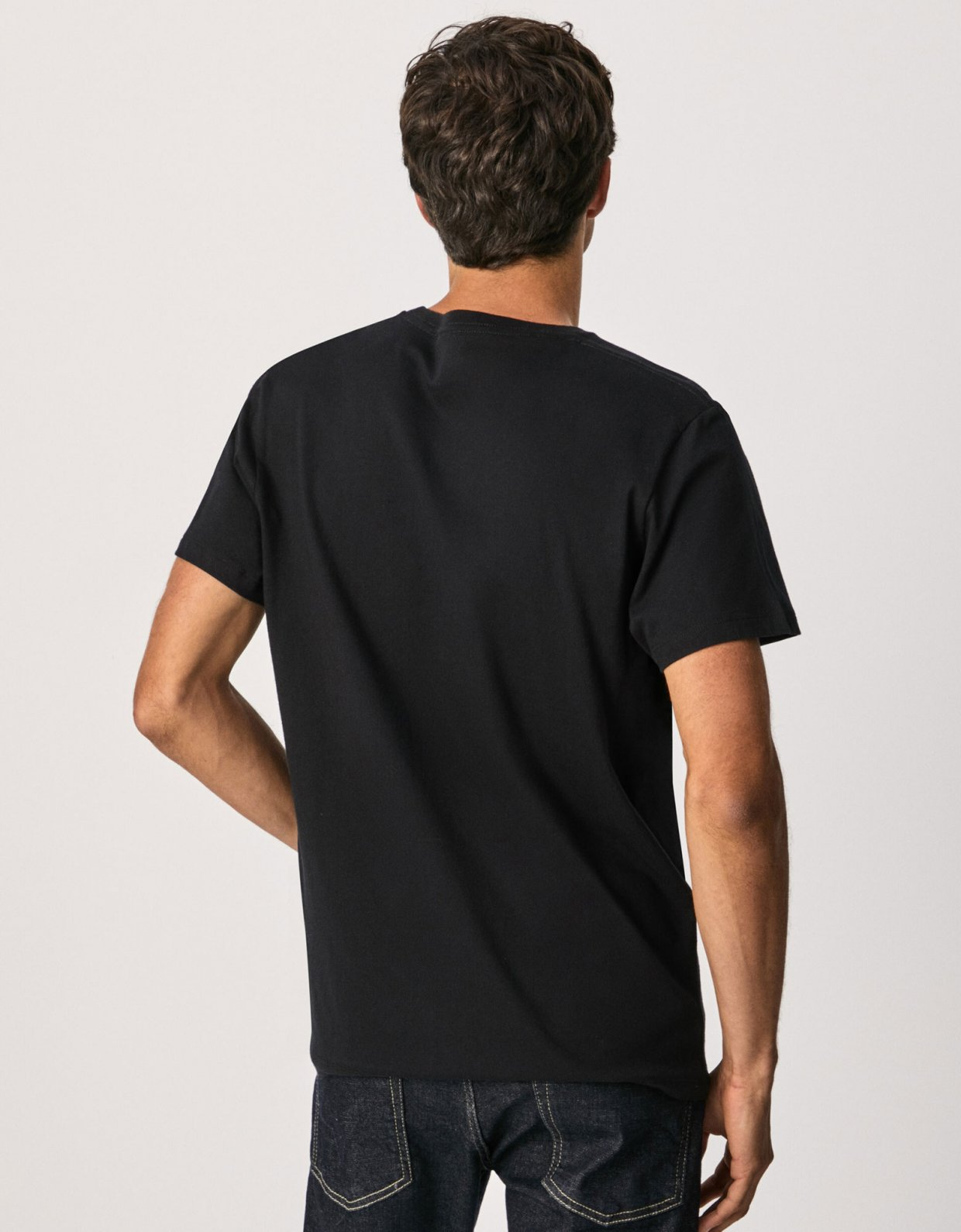 Pepe Jeans Eggo basic t-shirt black