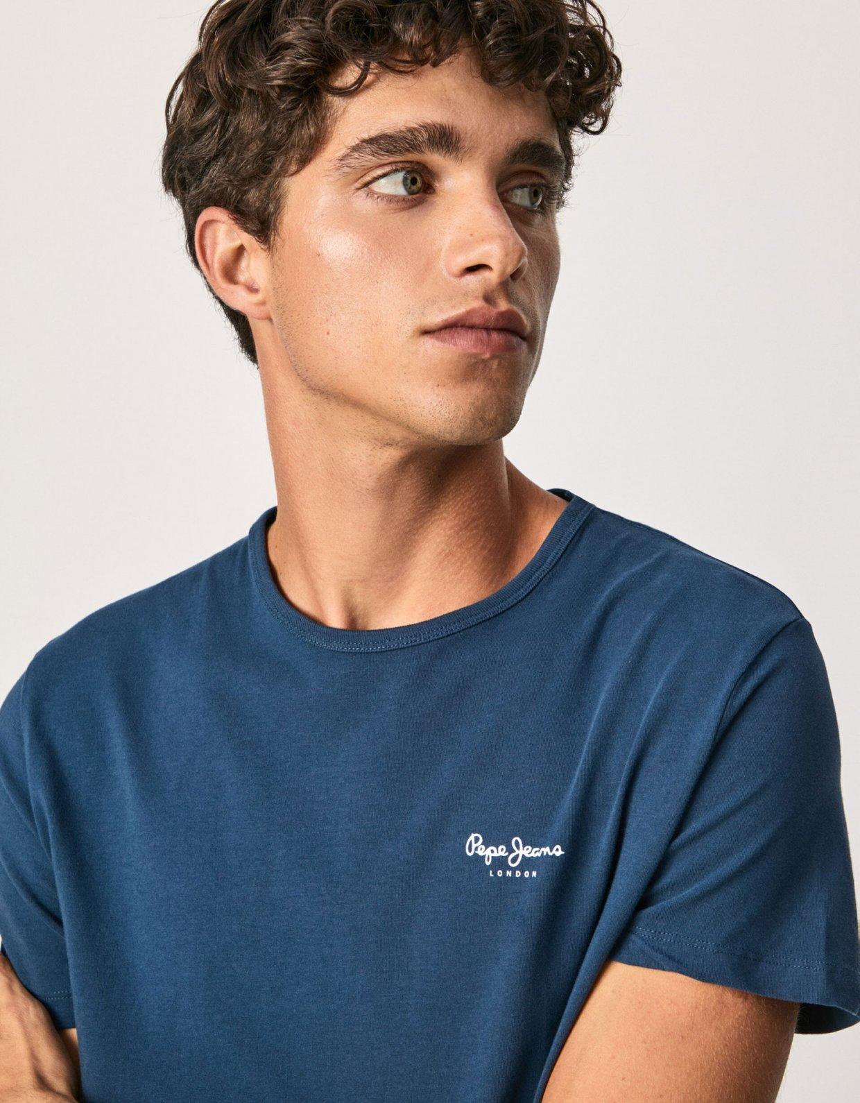 Pepe Jeans Original basic S/S t-shirt navy