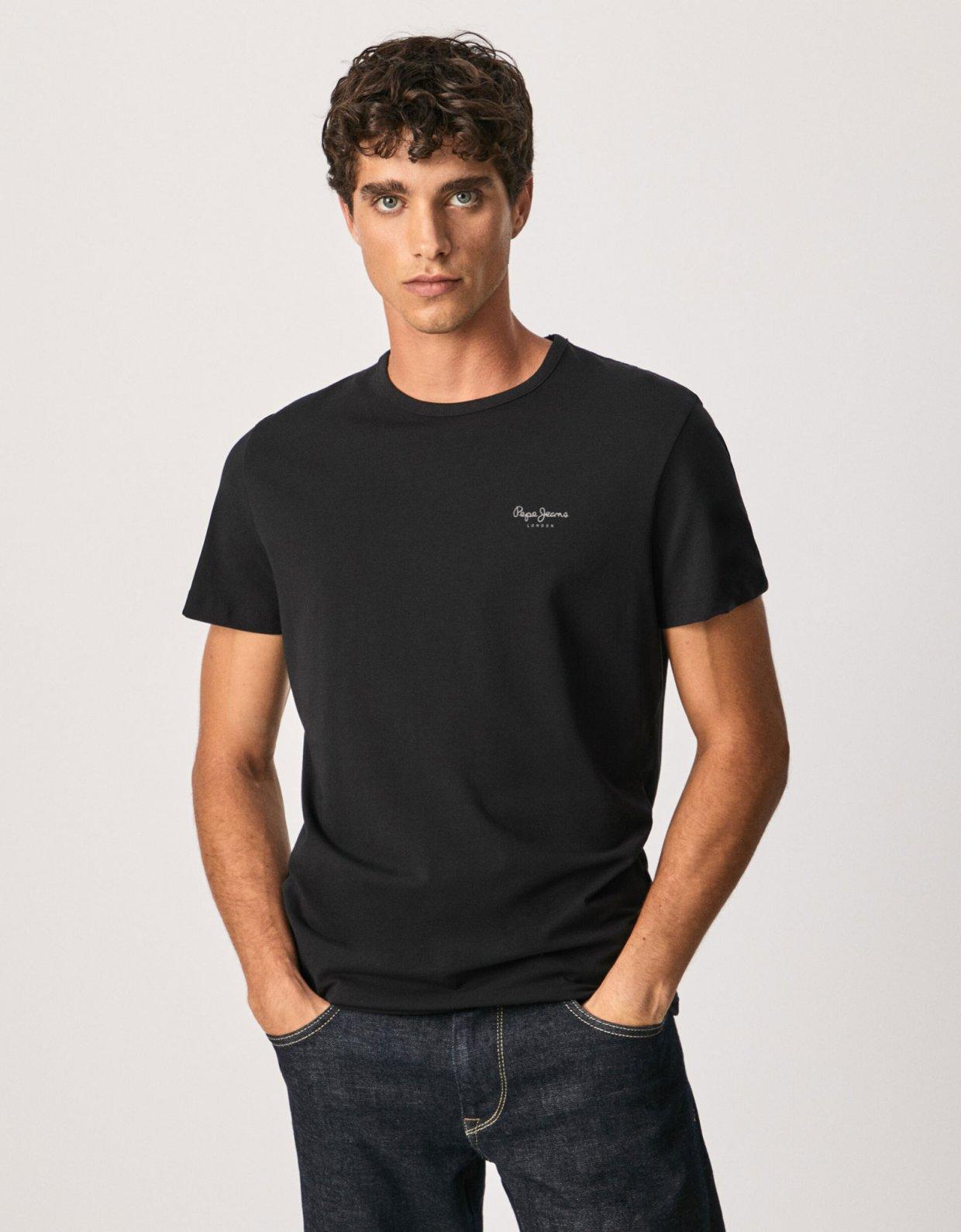 Pepe Jeans Original basic S/S t-shirt black