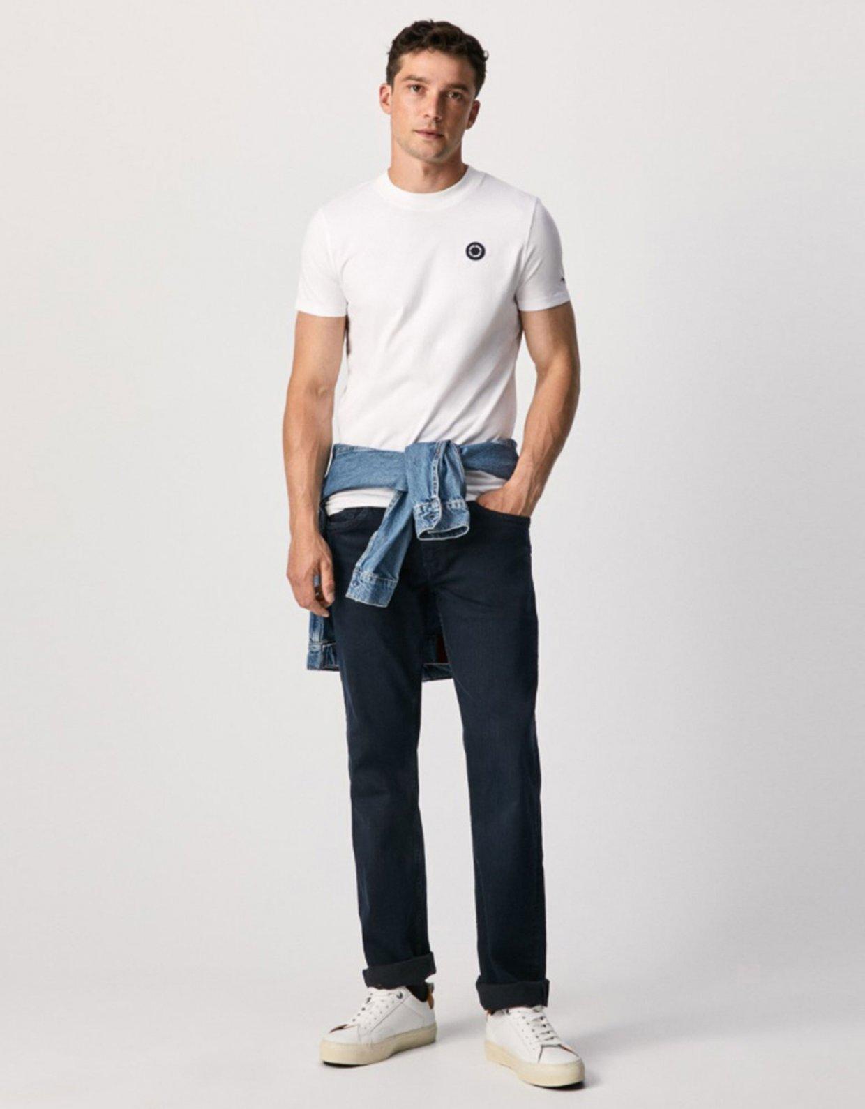 Pepe Jeans Wallace basic t-shirt white