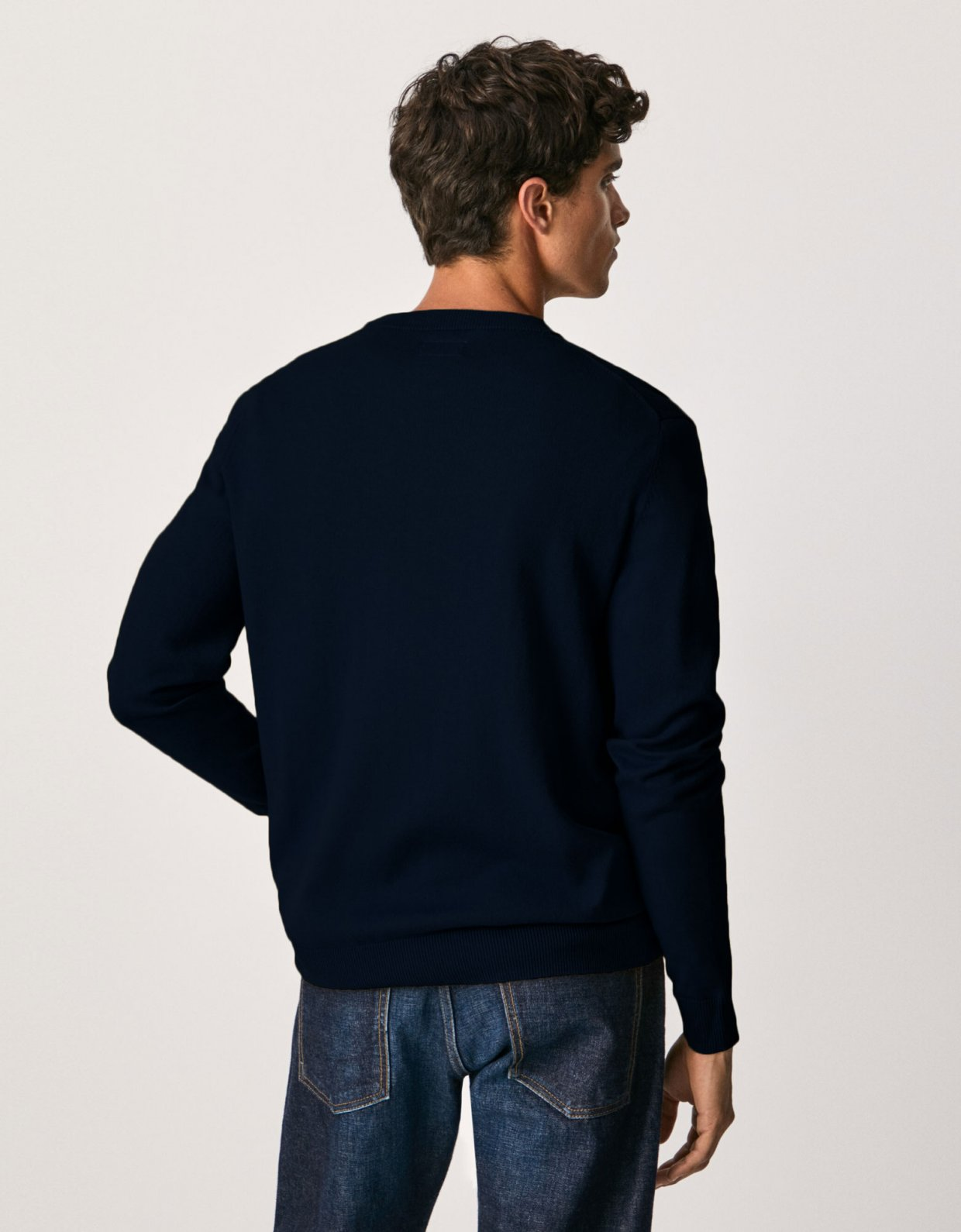 Pepe Jeans Andre basic jumper blue dulwich