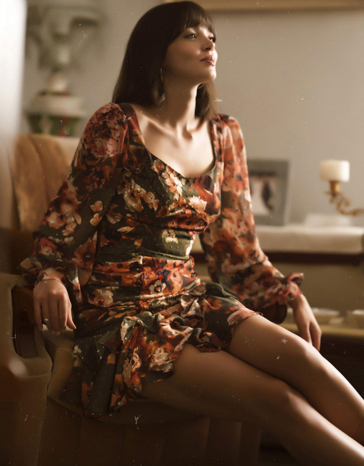 ABSTRACTO Elizabeth dress