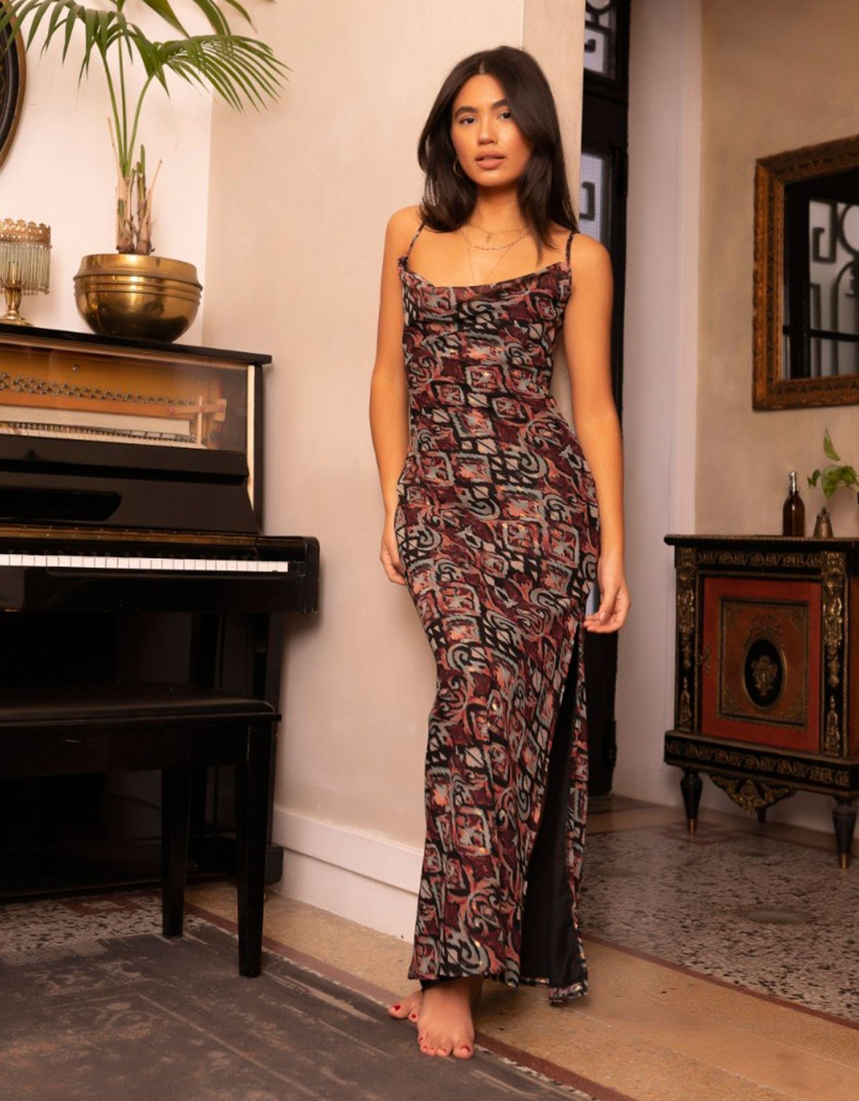 Abstracto Shrimpton dress