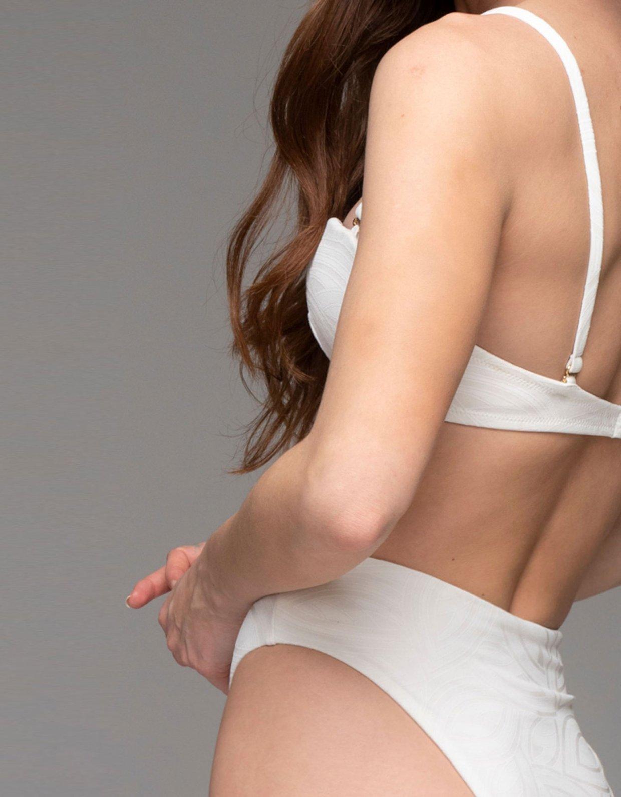 Nadia Rapti Pure bikini white