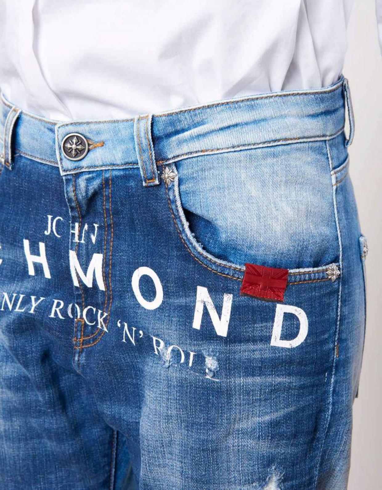 John Richmond Bensin denim pants