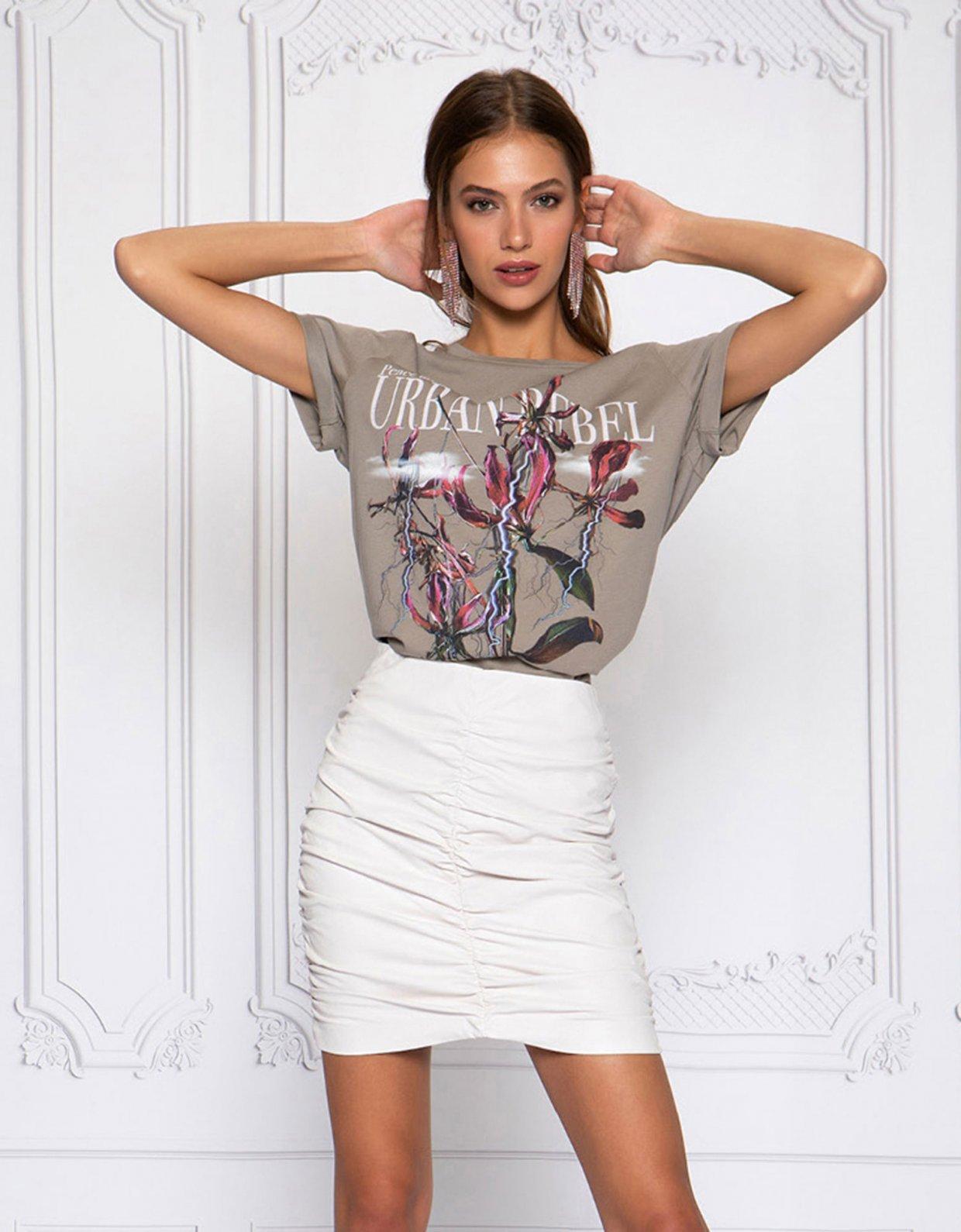 Peace & Chaos Urban rebel t-shirt