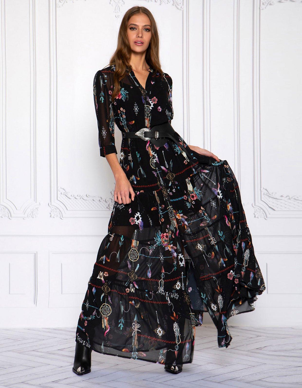 Peace & Chaos Dreamcatcher dress