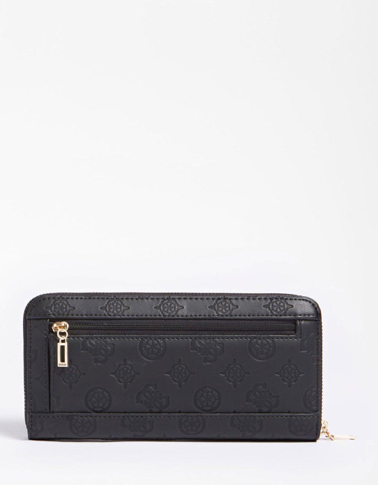 Guess Bea maxi wallet black