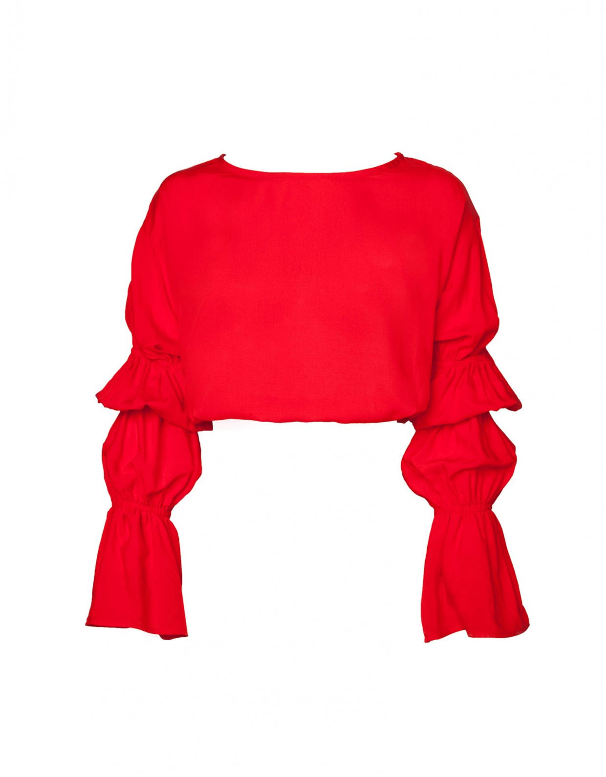 Lookseri swimwear Salerno top red