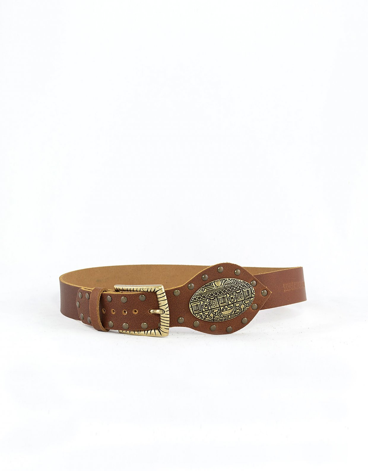 Peace & Chaos Serenity belt tanned