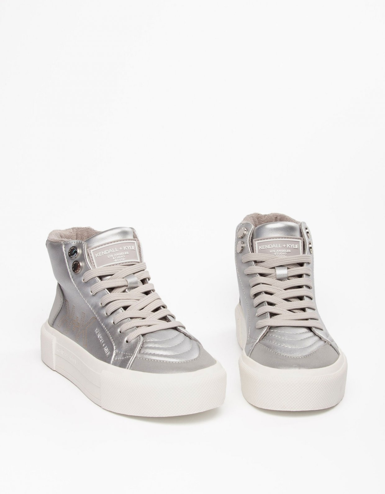 Kendall + Kylie Tetra sneakers silver