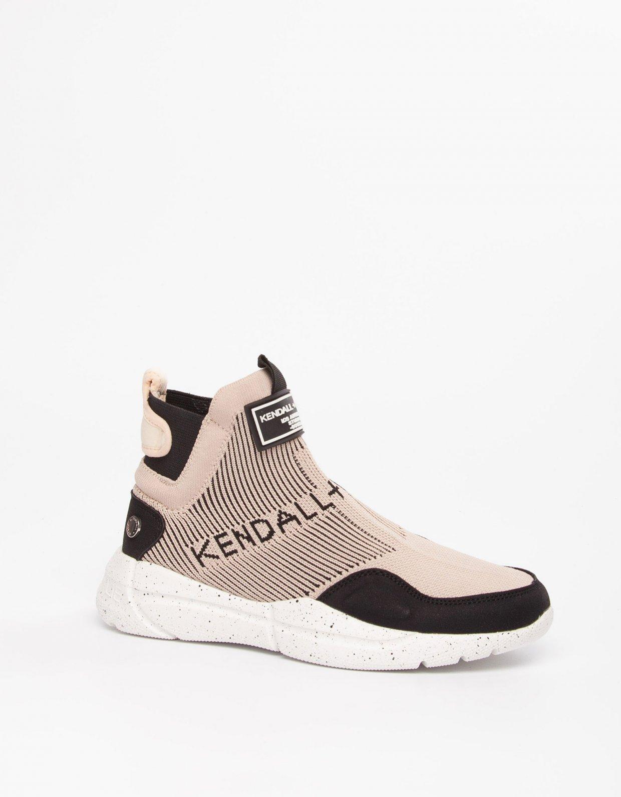 Kendall + Kylie Niv sneakers black/nude