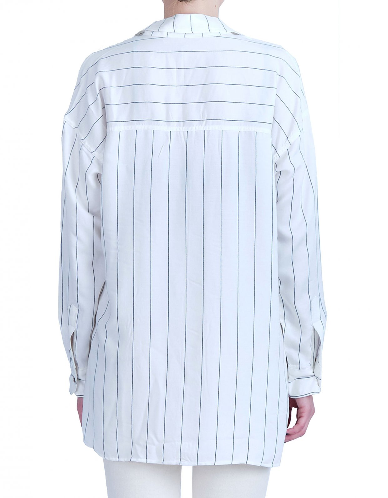 Salt & Pepper Stella striped shirt