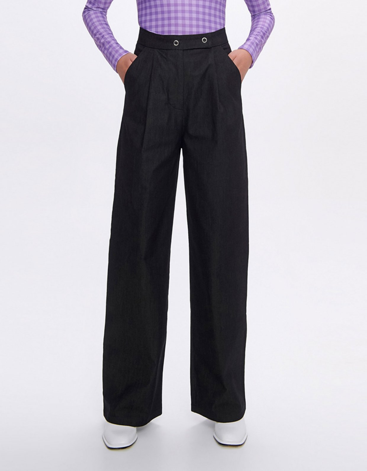 Sunset go Gina black eco jean pants