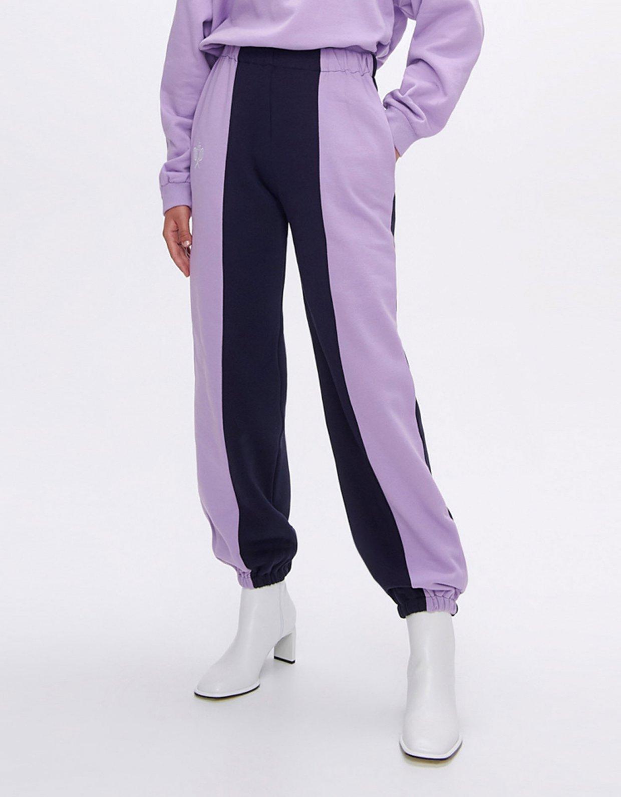 Sunset go Nadine rackets dark blue/lilac track pants