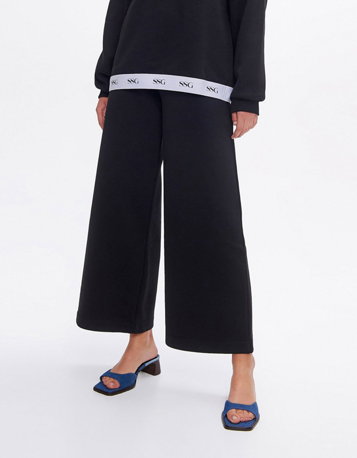 Sunset go Valerie black wide leg pants