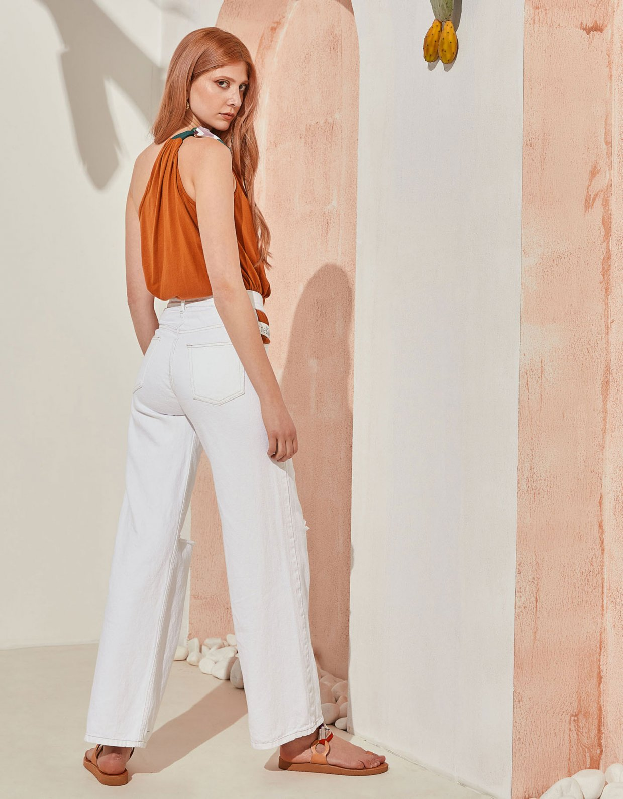 The Knl's Dawn sustainable top toffee