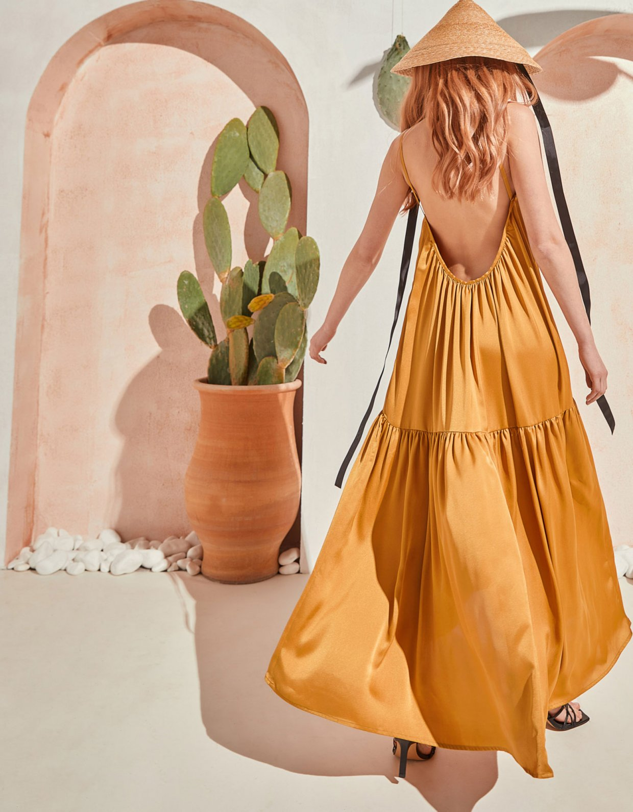 The Knl's Legacy dress aspen gold