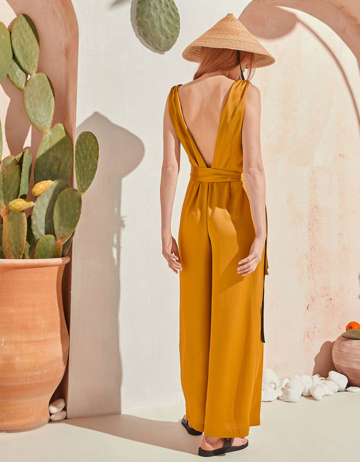 The Knl's Refeel jumpsuit aspen gold